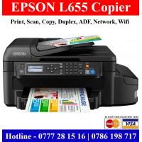 Epson L655 Printers Colombo, Sri Lanka |Epson L655 duplex Colour Printers
