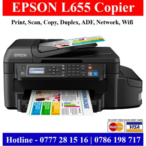 Epson L655 Printers Colombo, Sri Lanka |Epson L655 duplex